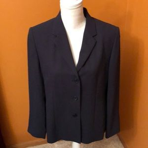 Talbots navy blue blazer.  New without tags.